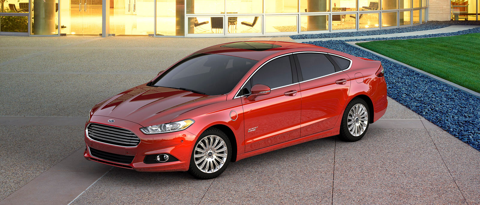 2016 Ford Fusion Red