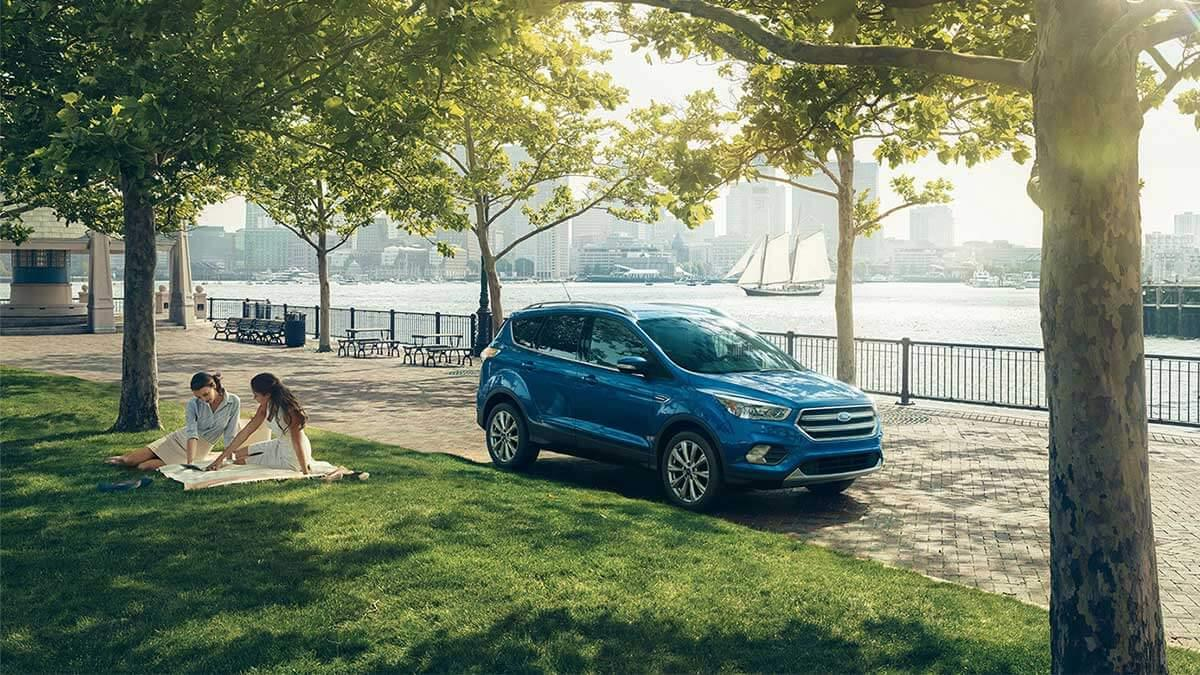 2017 Ford Escape in the park