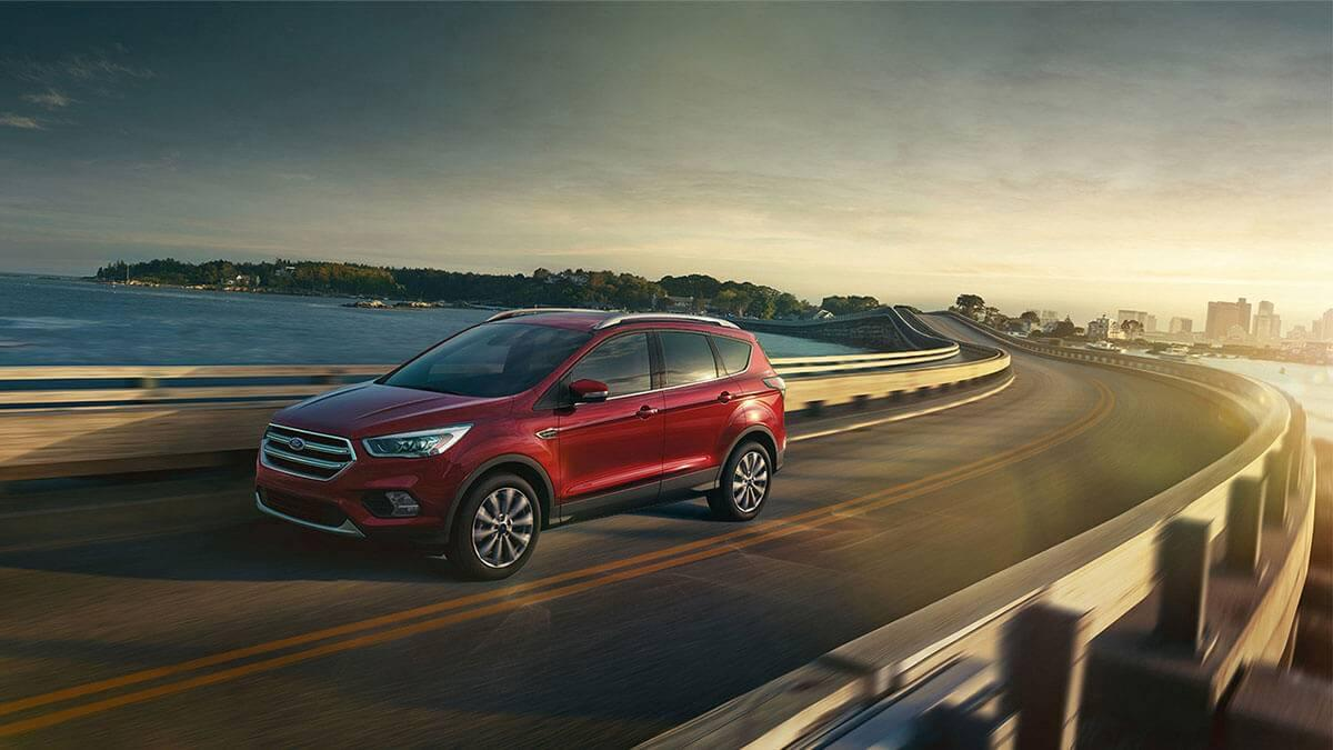 2017 Ford Escape on the highway