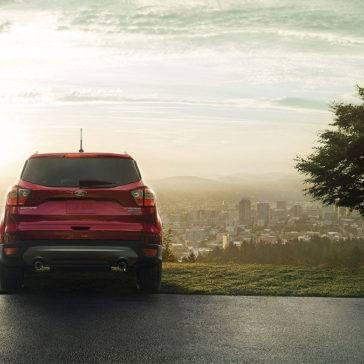 2017 Ford Escape at sunset