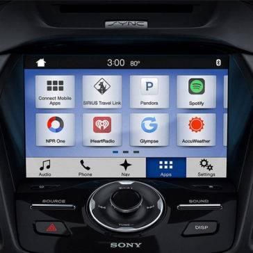 2017 Ford Escape screen