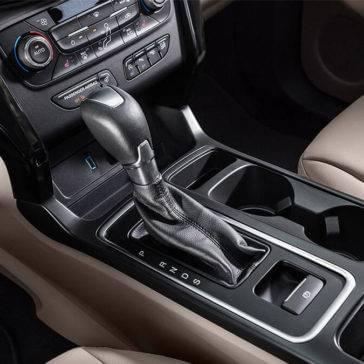 2017 Ford Escape interior