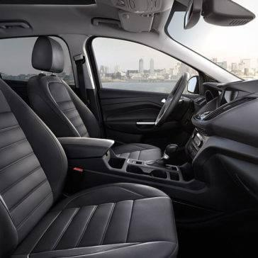 2017 Ford Escape interior seating