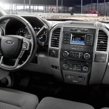 2017 Ford F-150 Interior Dashboard