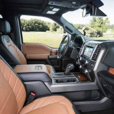 2017 Ford F-150 Limited Interior