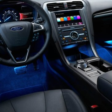 2017 Ford Fusion available ambient lighting