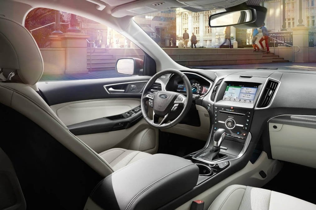 Ford Edge Titanium Interior