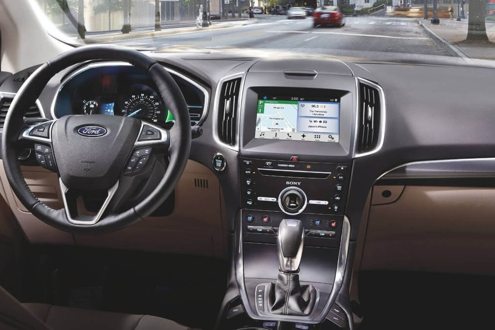 Ford Edge dashboard