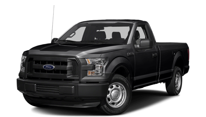 2017 Ford F-150 black exterior model