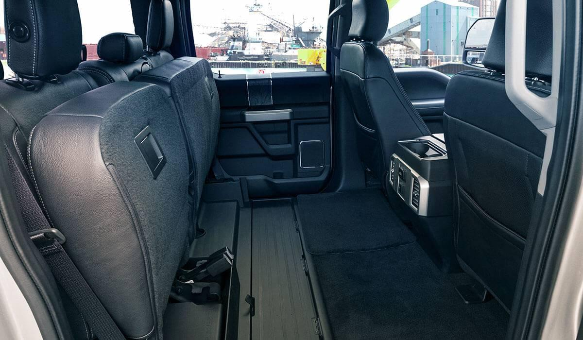 Ford Super Duty interior