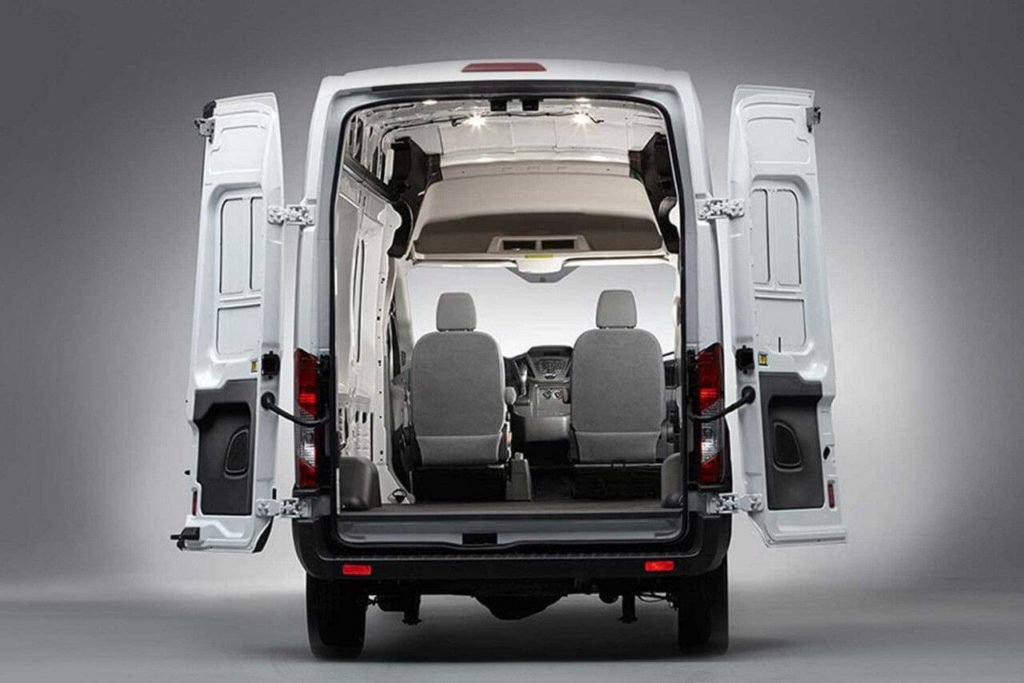 Ford Transit Cargo Space