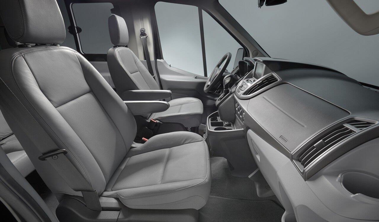 Ford Transit Interior Cabin