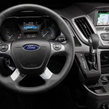 Ford Transit gauges and controls