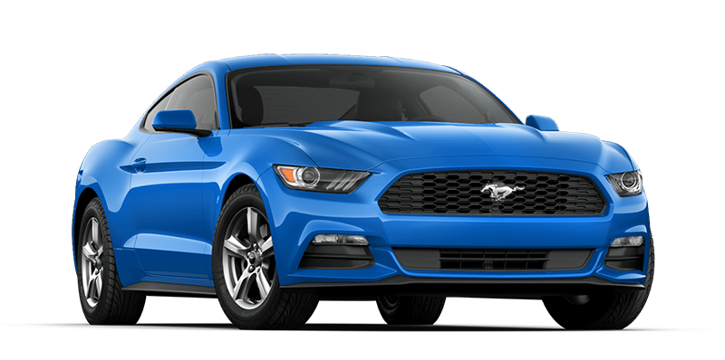 2017 Ford Mustang Blue