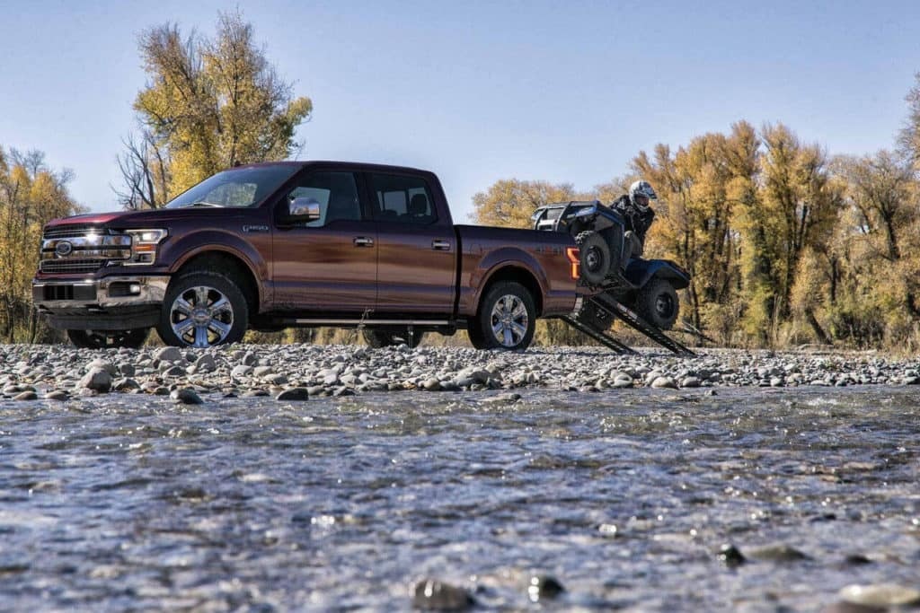 2018 Ford F-150 magma red