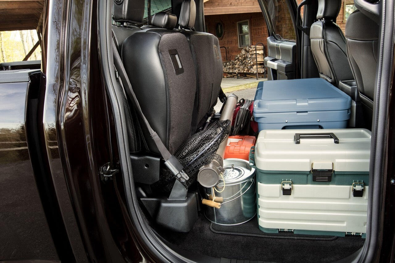 2018 Ford F-150 flat load floor