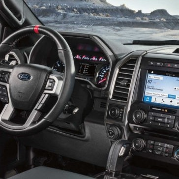 2018 Ford F-150 interior dashboard