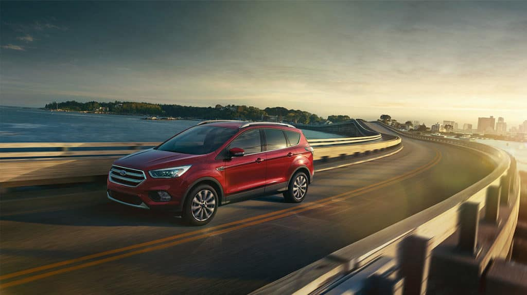 2018 Ford Escape on the highway