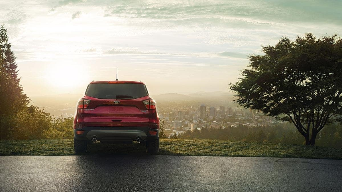 2018 Ford Escape rear view