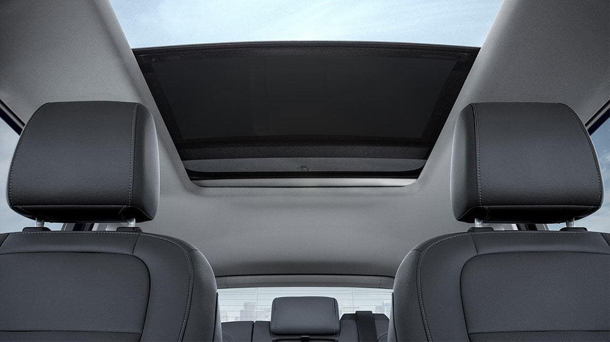 2018 Ford Escape sun roof