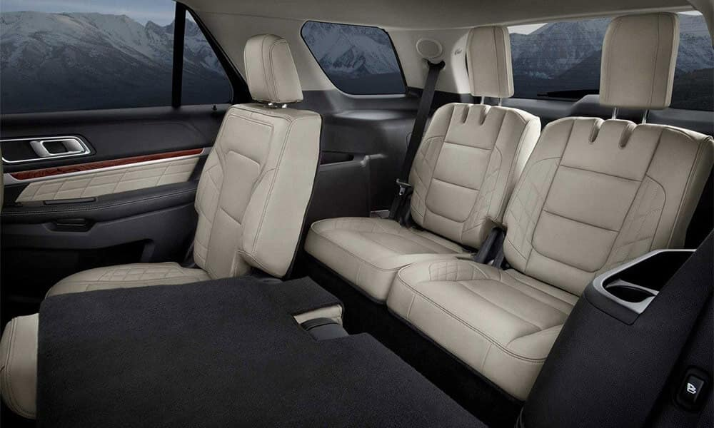 2018 Ford Explorer seating