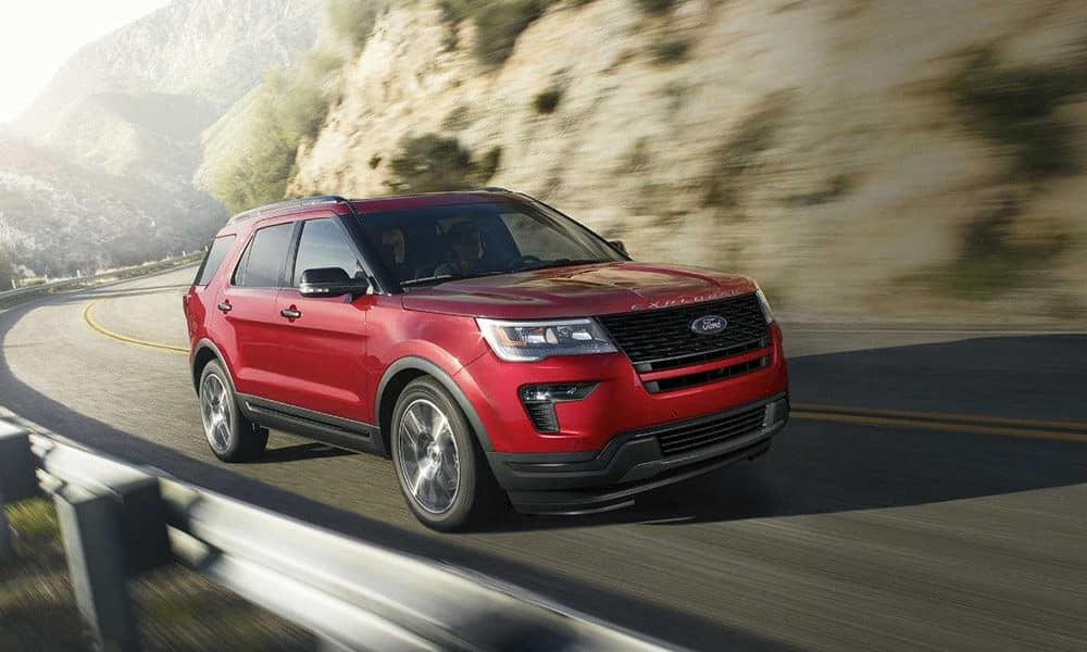 2018 Ford Explorer Interior Space Seating Features Glenwood Springs
