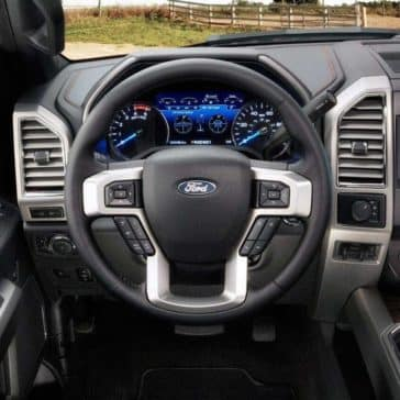 2018 Super Duty interior