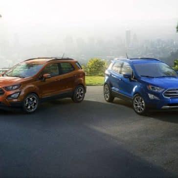 2018 Ford EcoSport trim levels
