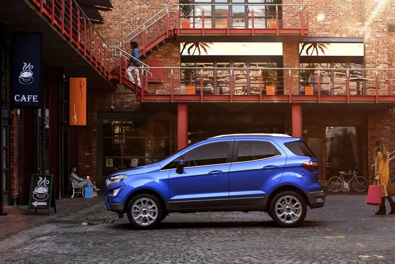 2018 Ford EcoSport profile view