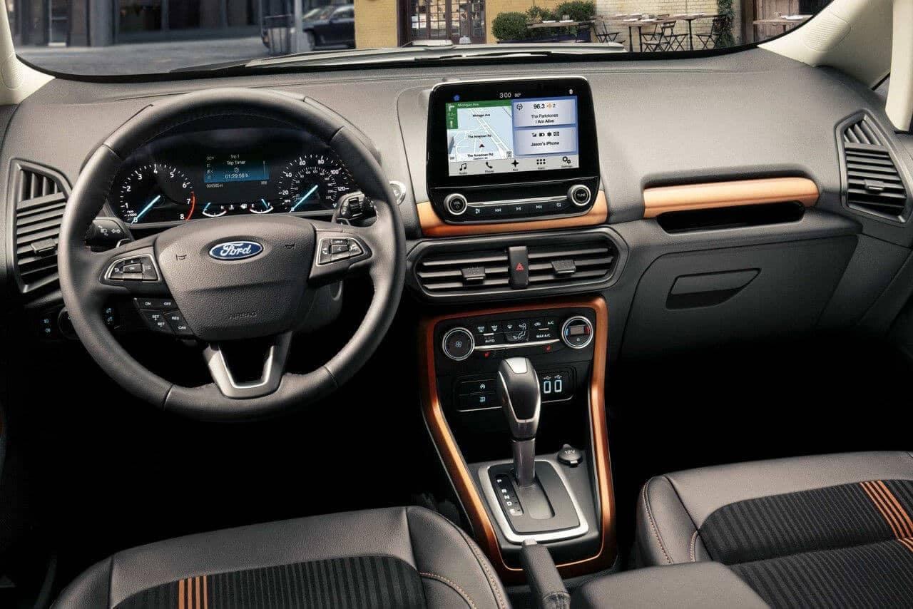 2018 Ford EcoSport dashboard