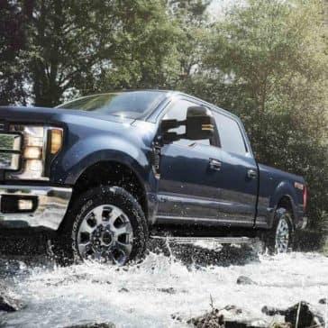 2019 Ford Super Duty lariat crew cab off roading