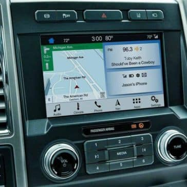 2019 Ford Super Duty navigation