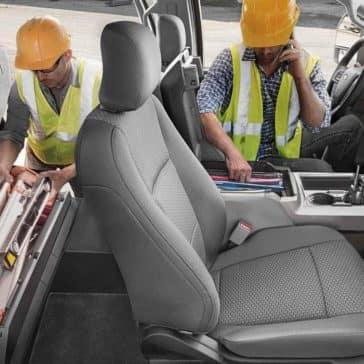 2019 Ford Super Duty under seat box