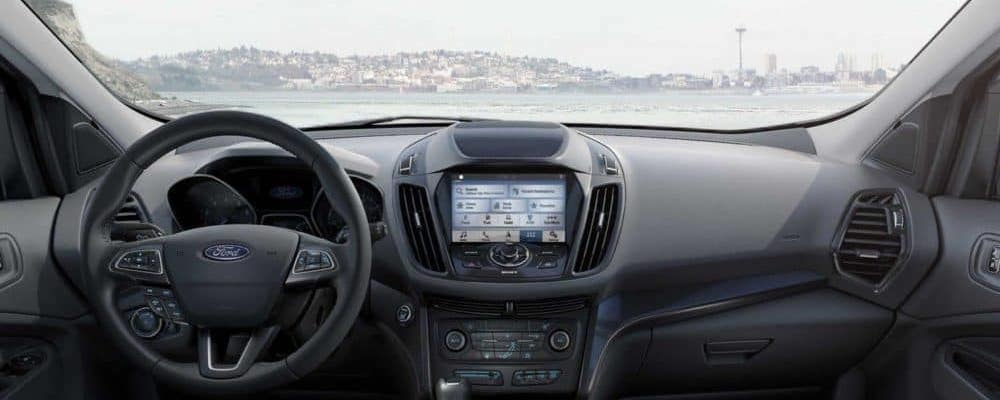 2019 Ford Escape interior dashboard view