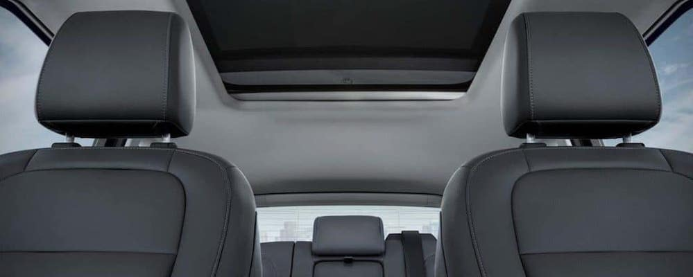 2019 Ford Escape Interior seats and moonroof