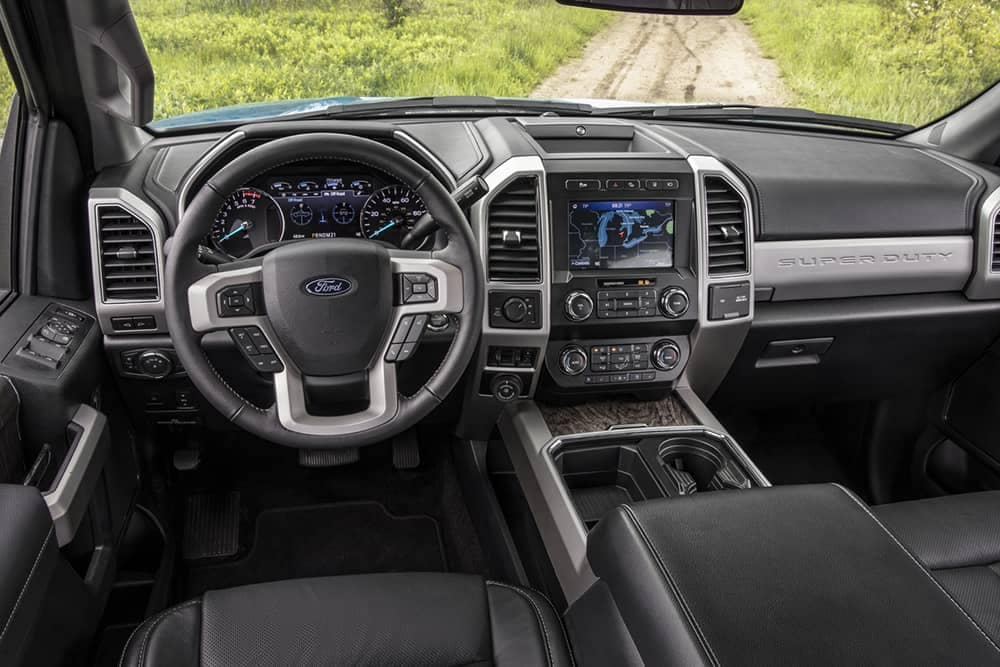 2020 Ford Super Duty Dash