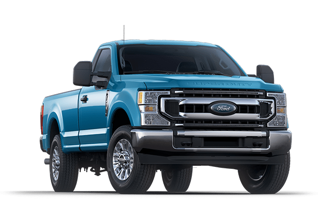 2020 Ford Super Duty Blue