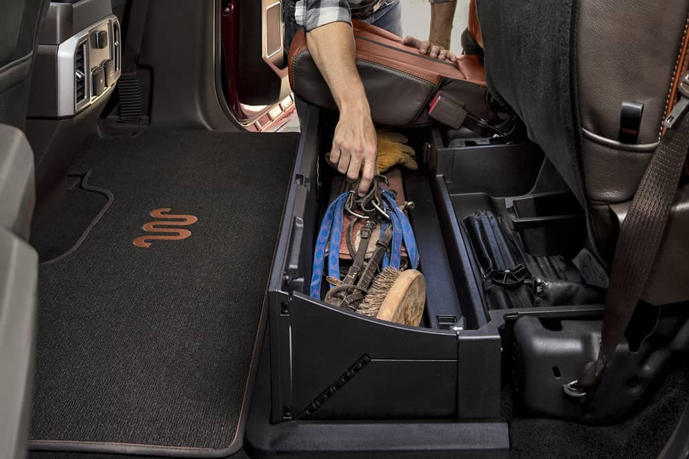 2020 Ford Super Duty Storage