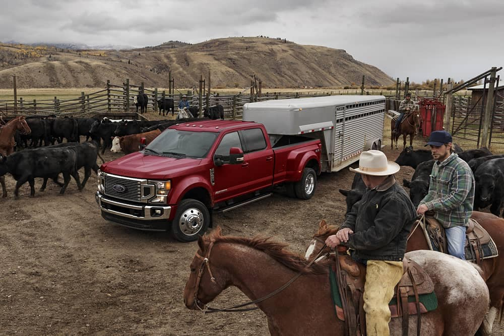 2020 Ford Super Duty Towing Trailer