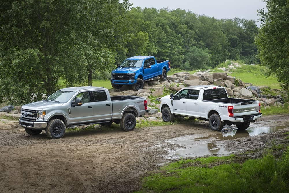 2020 Ford Super Duty Trio