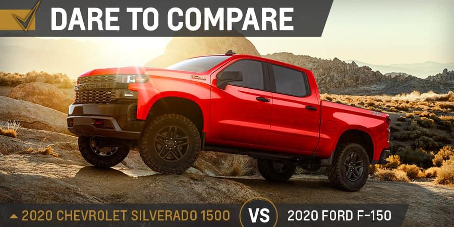 2020 Chevrolet Silverado 1500 vs. 2020 Ford F-150 - Graff Chevrolet in Grand Prairie, Texas