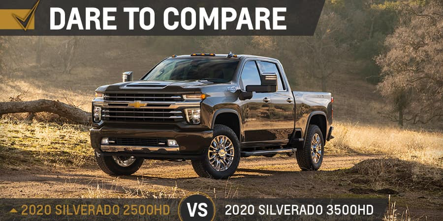 2020 Chevrolet Silverado 2500HD vs. 2020 Chevrolet Silverado 3500HD - Graff Chevrolet in Grand Prairie, Texas