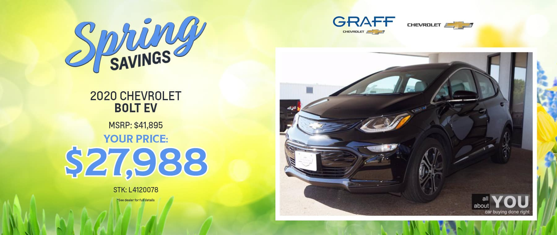 2020 Chevrolet Bolt EV | Grand Prairie, TX
