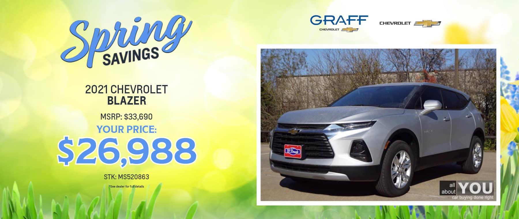 2021 Chevrolet Blazer | Grand Prairie, TX