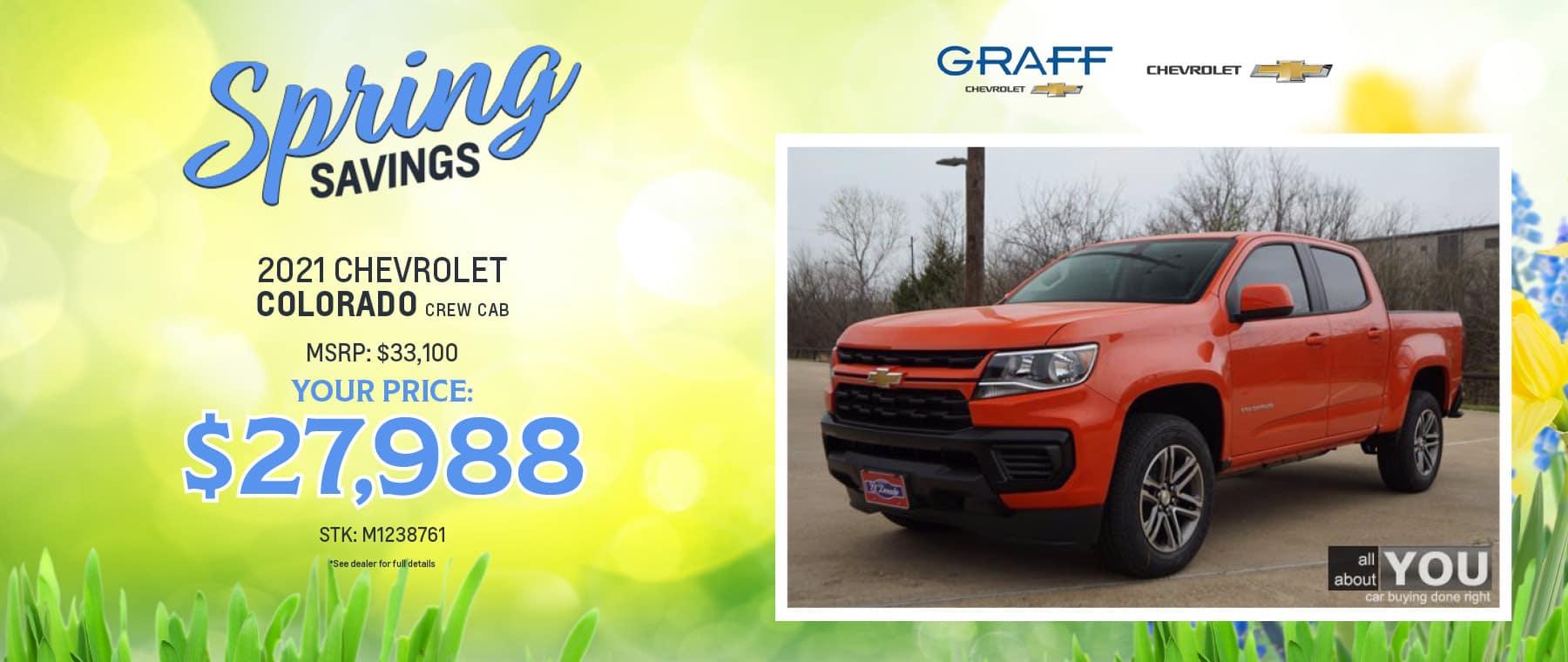 2021 Chevrolet Colorado | Grand Prairie, TX