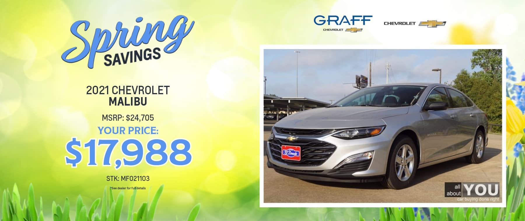 2021 Chevrolet Malibu | Grand Prairie, TX