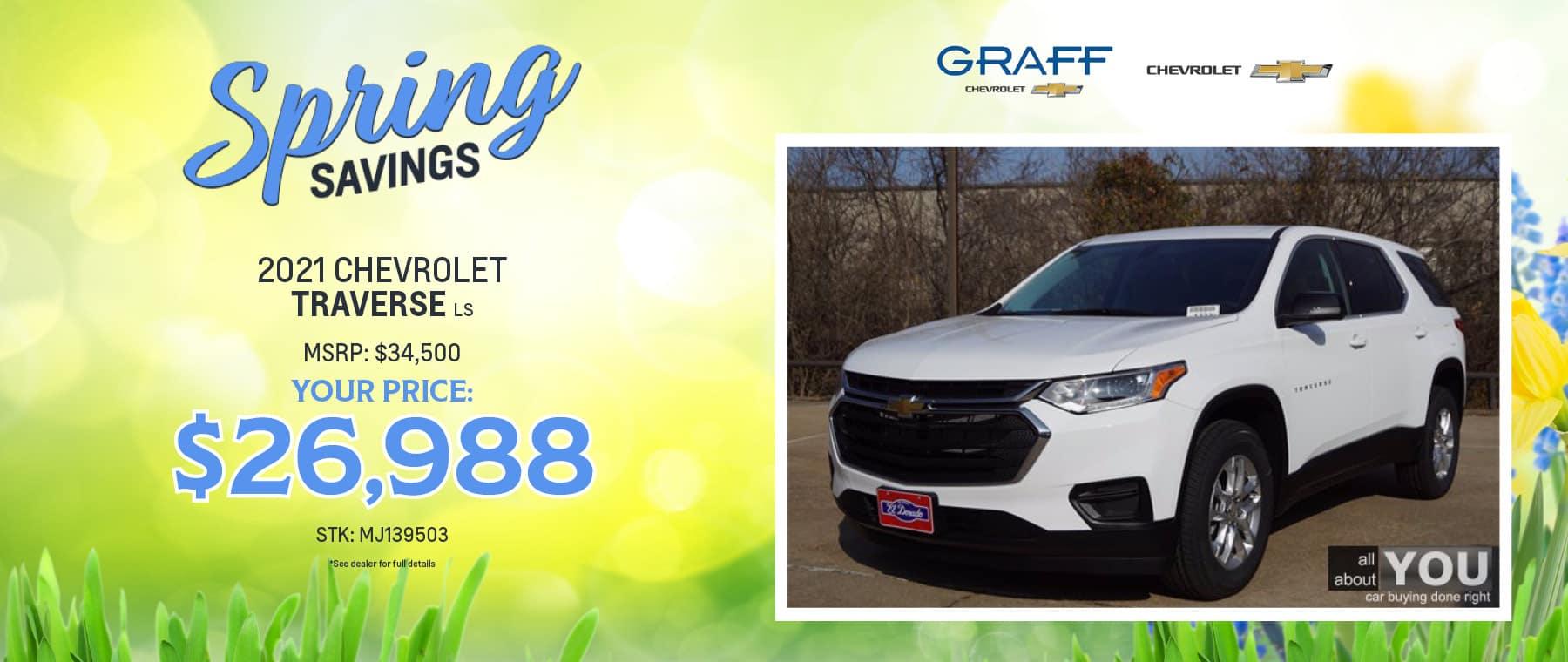 2021 Chevrolet Traverse | Grand Prairie, TX