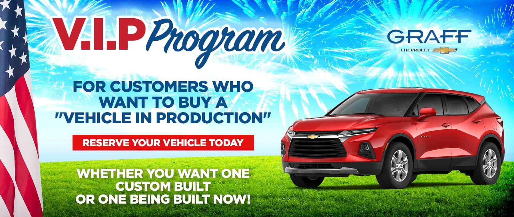 VIP Program | Grand Prairie, TX
