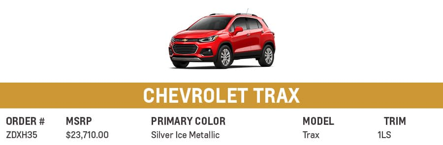 Chevrolet Trax   Grand Prairie, TX
