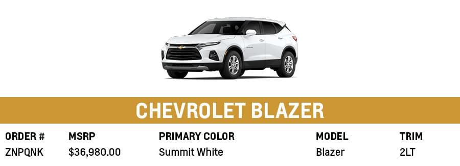 Chevrolet Blazer   Grand Prairie, TX